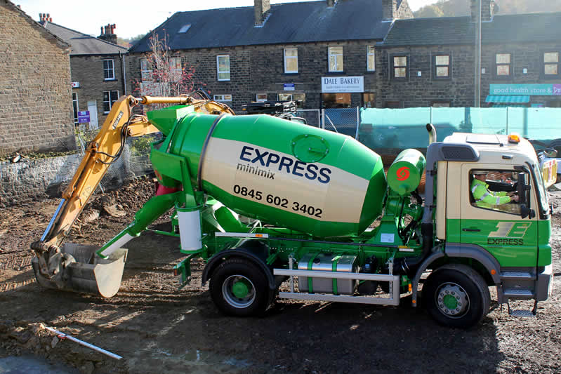 Ready Made Concrete : Express minimix ready mixed concrete suppliers