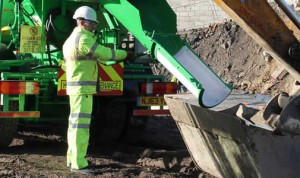 Handling Ready Mixed Concrete