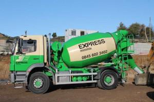 Side View - Express Minimix Mixer Truck